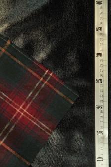 Ткань пальтовая на коже искусственной