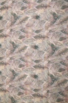 Лен костюмный цифровая печать Дымка