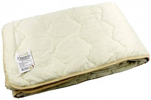 Одеяло стеганое 200х220 шерсть100%