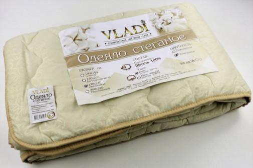 Одеяло стеганое 170х210 шерсть100%