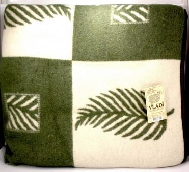 Одеяло жаккардовое VLADI из новозеландской шерсти 170х210