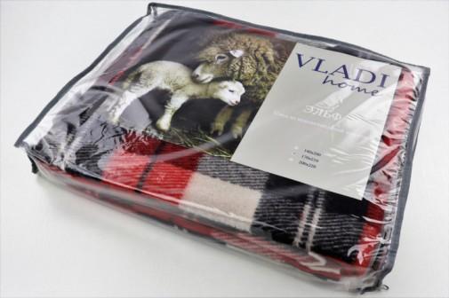 Плед VLADI из новозеландской шерсти 70% 170х210