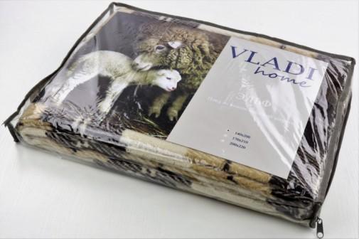 Плед VLADI из новозеландской шерсти 70% 200х220