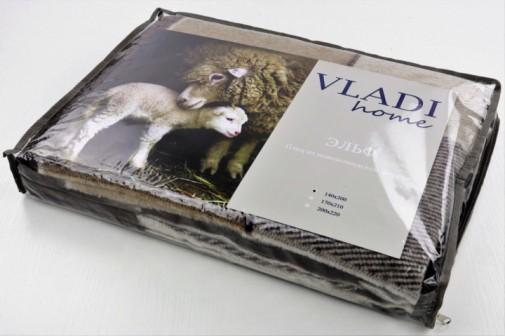 Плед VLADI из новозеландской шерсти 70% 140х200
